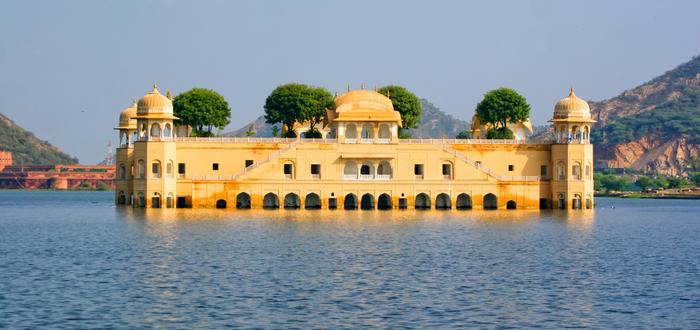 Qué ver en Jaipur. Jal Mahal