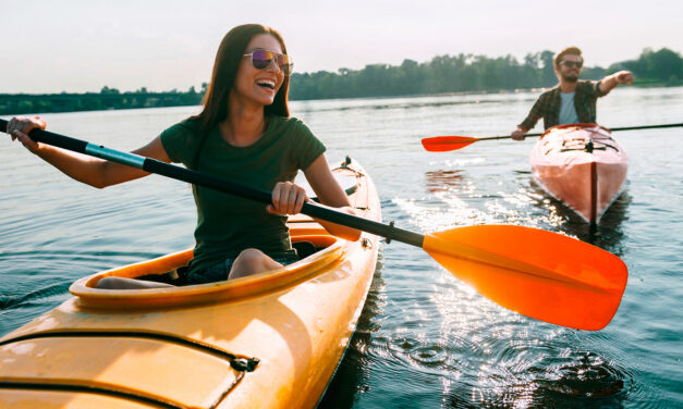 Deportes para practicar en verano: el kayak