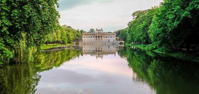 Parque y Palacio Lazienki
