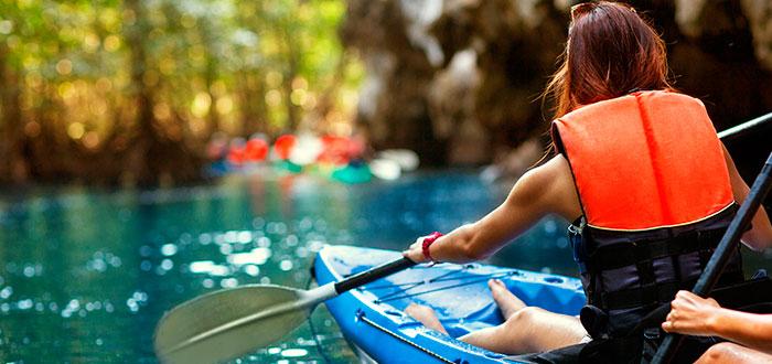 kayak deporte verano 2