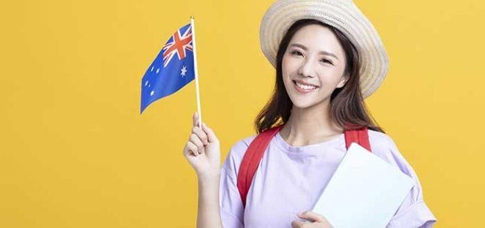Estudiante australiana