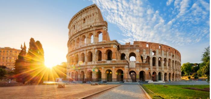 ciudad más bonita de Italia. Roma