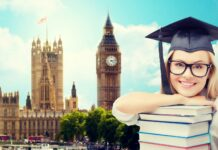 Estudiante de inglés en el extranjero