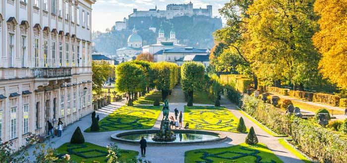 Qué ver en Austria   Palacio de Mirabell