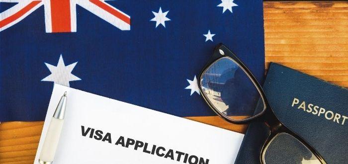 Formulario para visa para trabajar en Australia