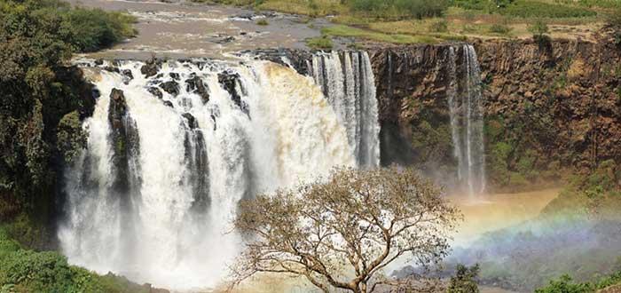 Cascadas de Nilo
