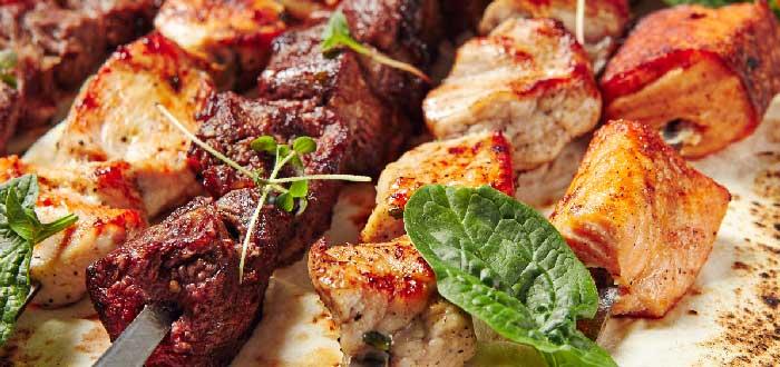 Comida típica de Qatar: Shish-Kebab