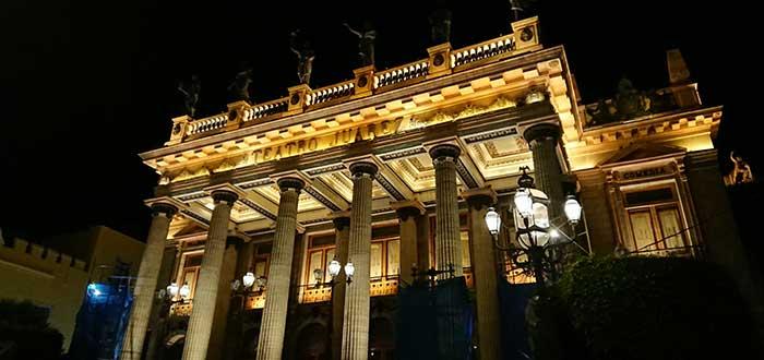 Qué ver en Guanajuato: Teatro Juárez