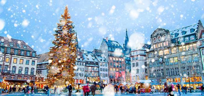 Ciudades para pasar la Navidad: Estrasburgo