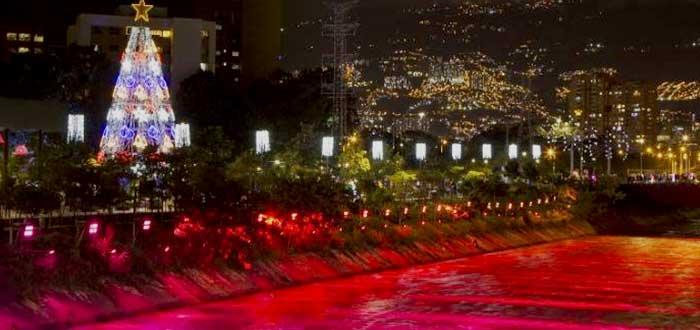 Ciudades para pasar la Navidad: Medellín