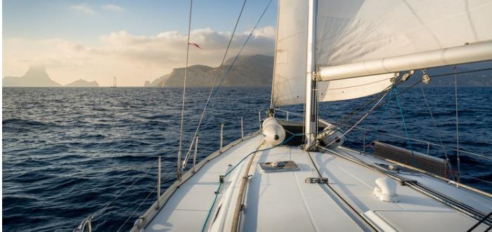 vacaciones en barco en Ibiza