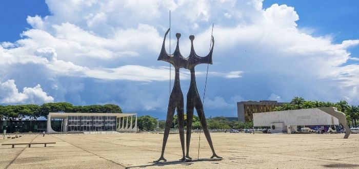 Plaza de los Tres Poderes