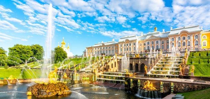 Palacios de San Petersburgo: Palacio de Peterhof, Palacio de Catalina y Palacio Yusúpov