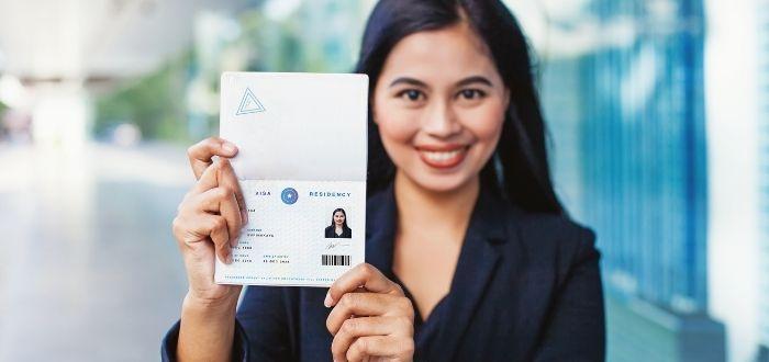 Turista con visa para estudiar y trabajar en Canadá