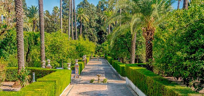 jardines mas bellos de andalucia