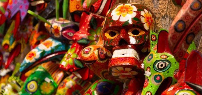 Máscaras culturales de Guatemala