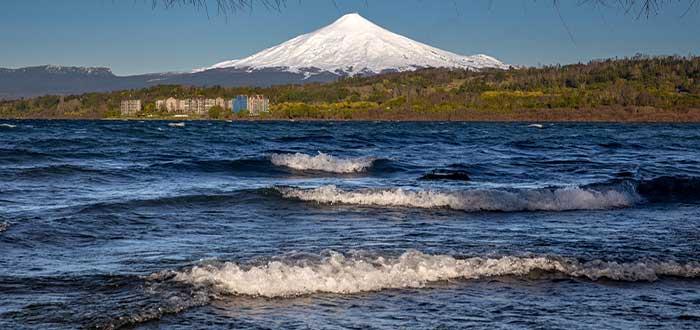 paisajes de chile volcan villarica
