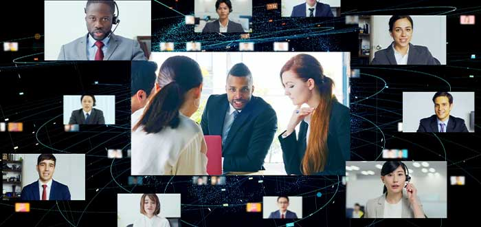 servicios audiovisuales para conferencias