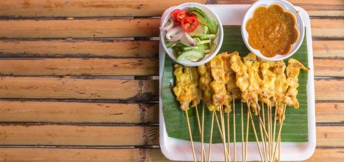 Kai/Mu Satae | Comida típica de Tailandia