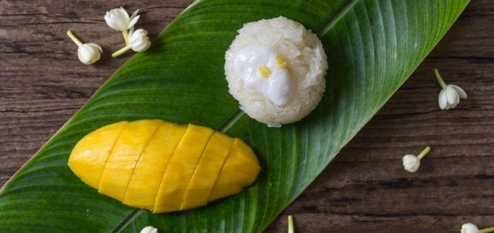 Mango sticky rice | Comida típica de Tailandia