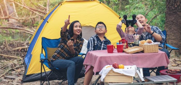 consejos para irte de camping