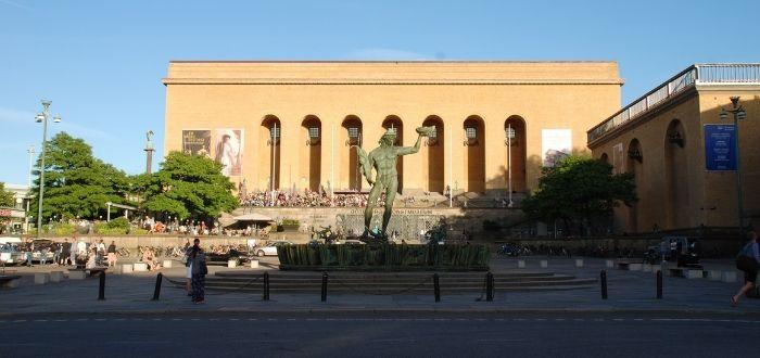 Plaza Götaplatsen   Qué ver en Gotemburgo