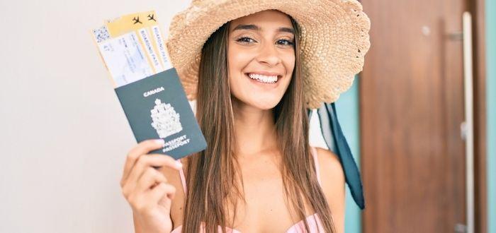 Mujer con pasaporte español | Visa para España