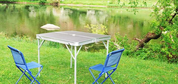mesas plegables para tu viaje en camper