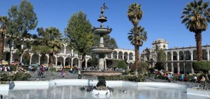 Plaza de Armas | Que ver en Arequipa