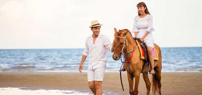 paseo a caballo ibiza