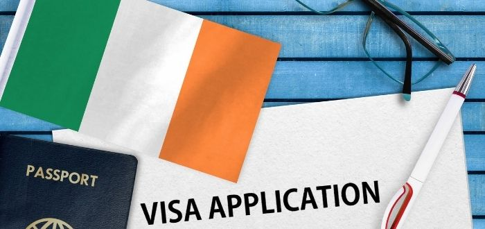 Hoja de aplicación de visa para Irlanda