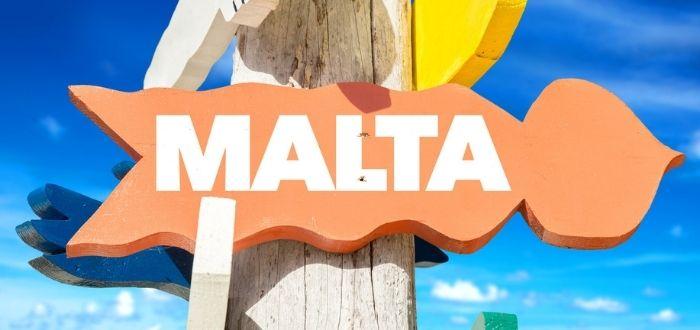 Señalización para viajar a Malta