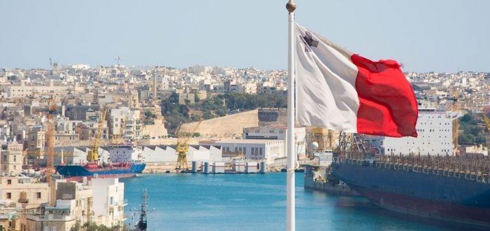 Ciudad maltés para laborar | Bandera maltés
